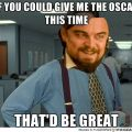 Di Caprio Wins A Golden Globe. Oscar Next ?