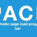 Pace.js: A Library For Page Load Progress Bar.