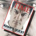 Bollywood Star Aamir Khan appears on Time Magazine cover