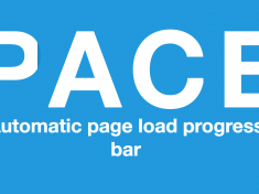 Pace.js for progress bar